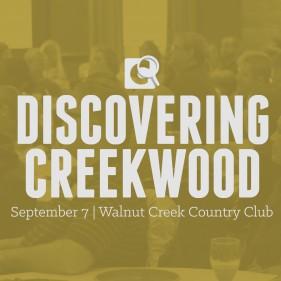 DiscoveringCreekwoodevent